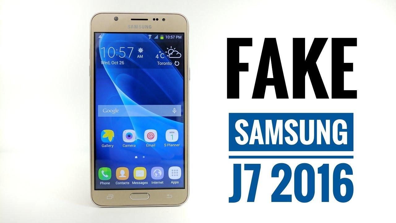 FAKE Samsung Galaxy J7 2016 Review