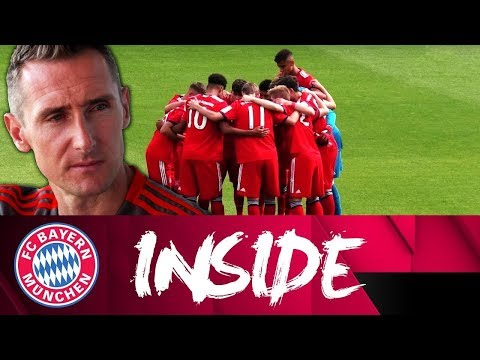 Miroslav Klose: Successful Coach of the Under-17s | Inside FC Bayern