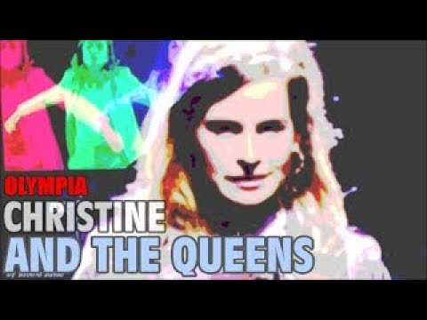 CHRISTINE AND THE QUEEN LIVE IN PARIS A L'OLYMPIA LE 23 SEPTEMBRE 2014