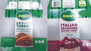 Jennie-O recalls 91K lbs of ground turkey that may have salmonella