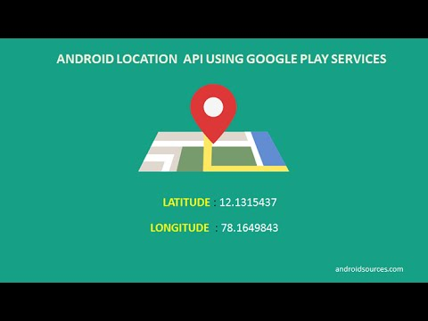 Android Location API Using Google Play Services (Android Studio)
