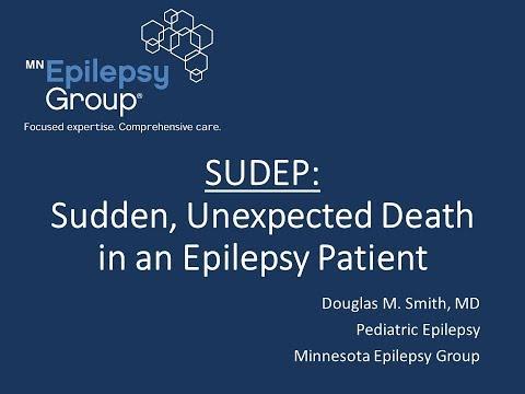SUDEP: Sudden, Unexpected Death in an Epilepsy Patient Webinar