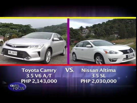 Nissan Altima vs Toyota Camry -  Head 2 Head