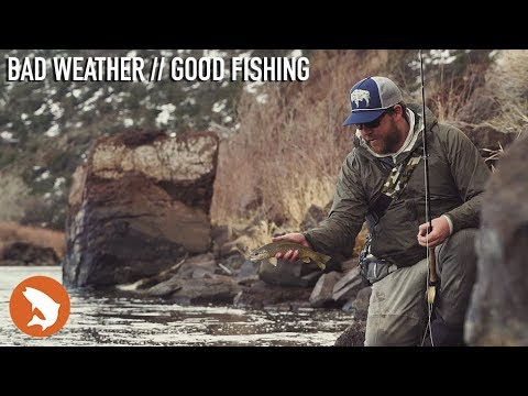 Bad Weather // Good Fishing - Fly Fishing The Arkansas River In The Spring