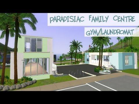 The Sims 3 Build - Paradisiac Family Center