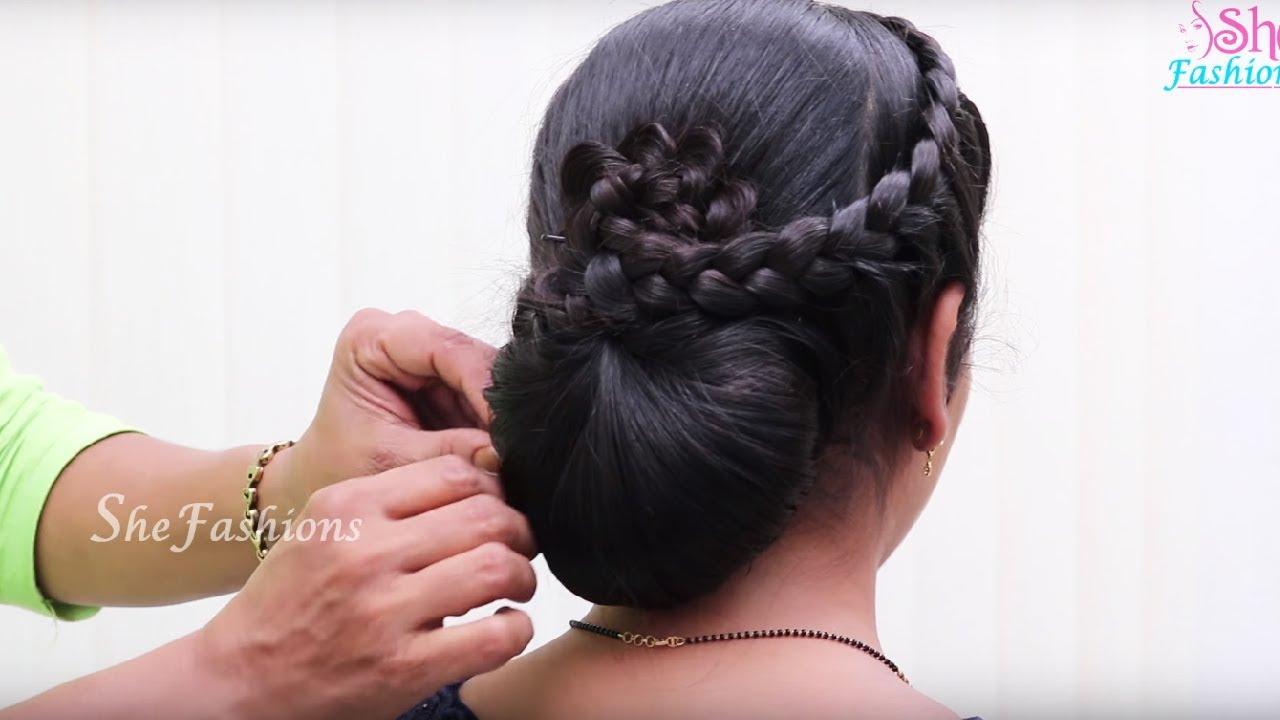 easy hair style long &