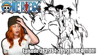 LUFFY PUNCHES A CELESTIAL DRAGON! One Piece Episode 393,394,395,396 REACTION!