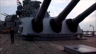 USS Alabama BB-60 Navy Ship