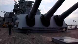 USS Alabama BB-60 Navy Ship