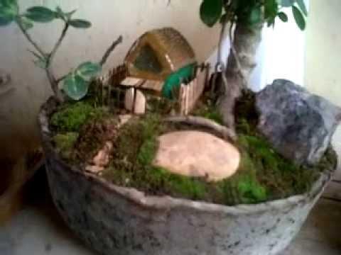 miniatur taman paling indah youtube