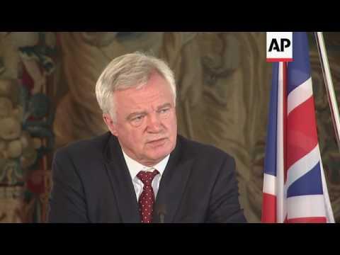 Davis: progress made in Brexit talks