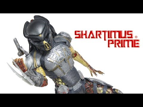NECA The Predator 2018 Ultimate Fugitive Movie Action Figure Toy Review