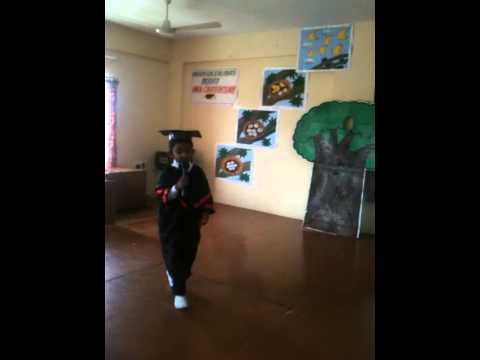 graduation day speech by kindergarten students
