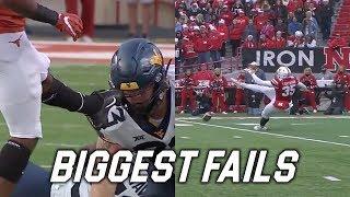 College Football Biggest Fails 2018-19
