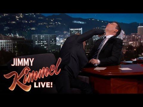 Jason Statham Punches Jimmy Kimmel