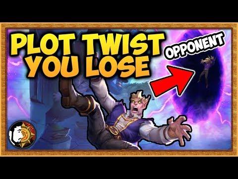 Hearthstone: Plot Twist You Lose - Plot Twist Warlock
