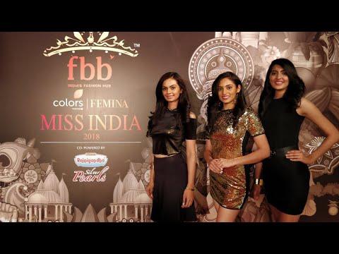 Unveiling of Miss India 2018 Madhya Pradesh finalists