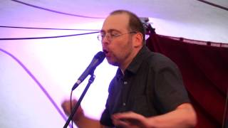 "Dirk HuelsTrunk performs ""Wolken"" by Hugo Ball"