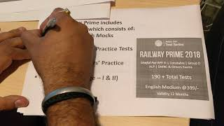 Railways Prime| One stop solution for all Railways Mock Papers