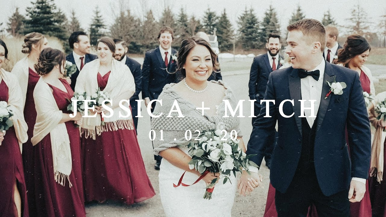 Jessica and Mitch - Niagara Falls Winter Wedding