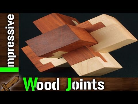 Top 10 Most Impressive Wood Joints