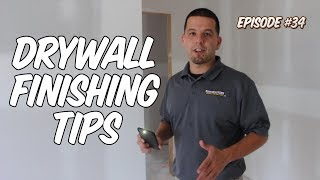 Drywall Finishing Tips | SEGC Vlog 34