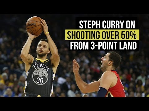 Stephen Curry on whether he can over 50% from 3-point land