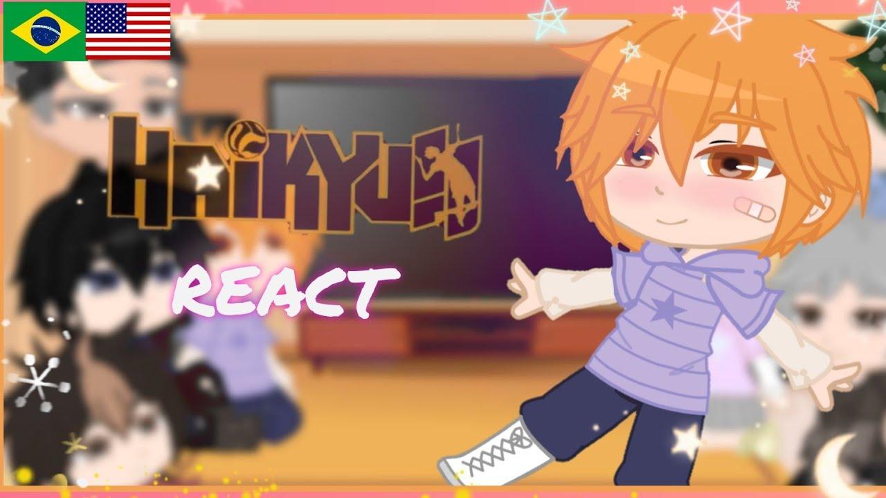 Download {React} 🏐💛 Karasuno/Haikyuu react to Tiktoks // (🚨YAOI) // Gacha Club // PT/ENG