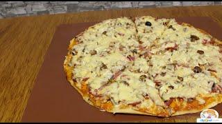 Вкуснейшая домашняя пицца по-русски!