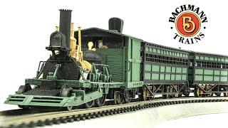 Bachmann HO-Scale John Bull Electric Model Train Set Unboxing & Review