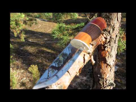 Helle Odel DIY Puukko knife