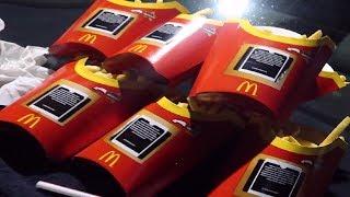 McDonalds MONOPOLY - Kassierer fragt, ob ich es ernst meine.