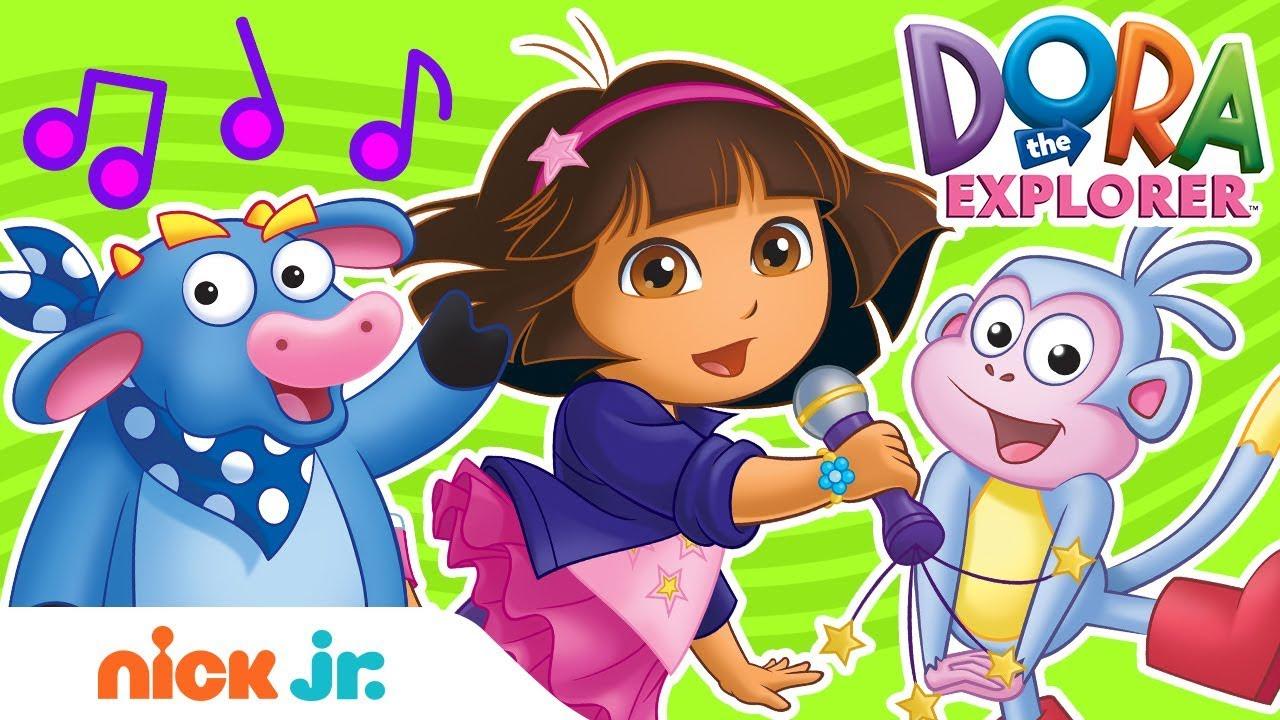 Download Fun Sing-Along Songs w/ Dora the Explorer! 🎤🎵| Sing-Along | Nick Jr.