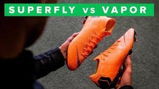 Nike Mercurial Superfly 6 vs Nike Mercurial Vapor 12 football boots...
