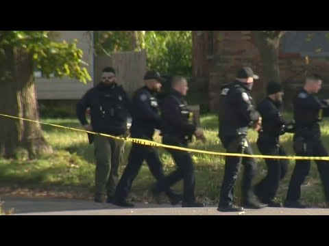 Detroit police searching for man who shot at officers on city's east side
