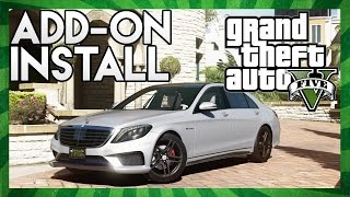 GTA 5: How to Install ADD-ON Cars! (GTA 5 PC Mod Tutorial)