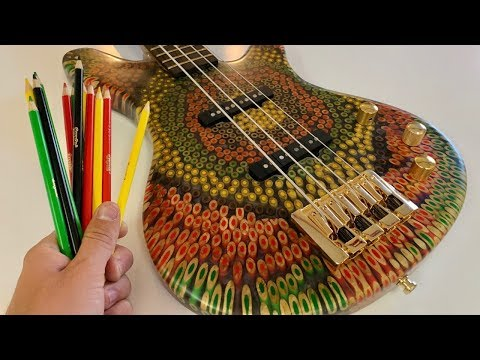 I Built a Reggae Bass Out of Colored Pencils