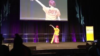 Brisbane Supanova 2015 - Sunday Cosplay Skit - Fetch Walker