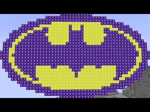Minecraft BATMAN NAVY LUCKY BLOCKS MOD