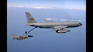 Air Refueling Gone Bad in Mid Air