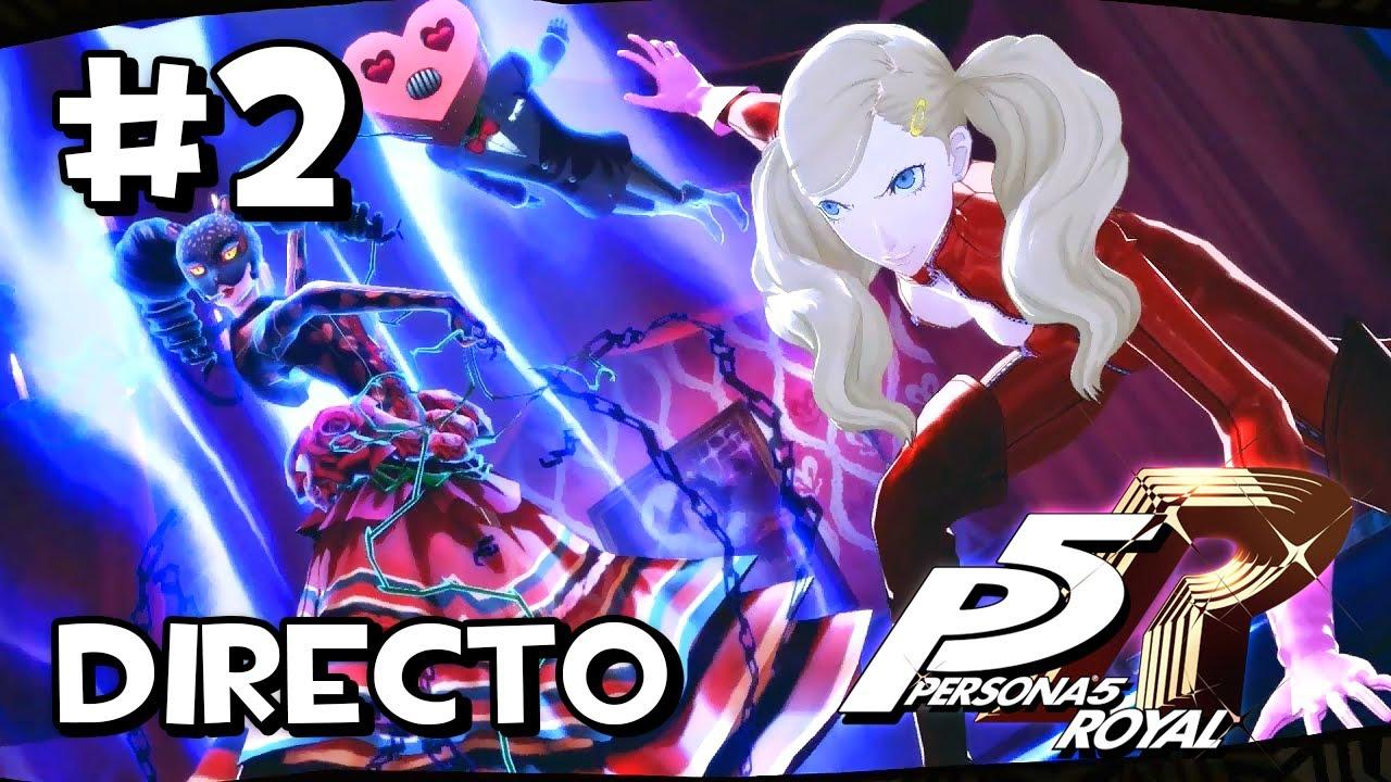 NECESITAMOS APODOS GUAYS | Persona 5 Royal - Directo Completo #2