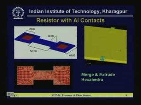 Lecture - 18 MEMS Pressure and Flow Sensor