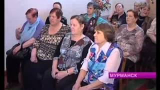 В Мурманском совете ветеранов войны и труда Октябрьского округа принимали гостей
