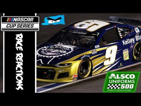 2020 NASCAR Cup Series Alsco 500K Race Reactions