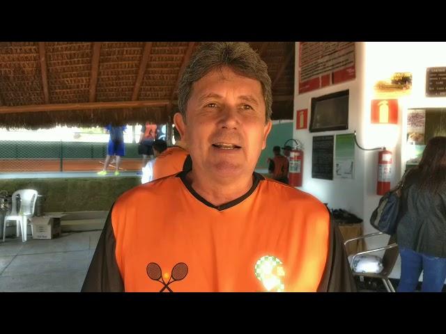 Inauguração do Complexo Saulo Calazans no Clube Náutico de Sete Lagoas - Quadras de Tênis.