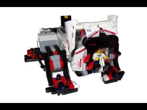 Lego Mindstorms ev3 Dog Prototype - YouTube