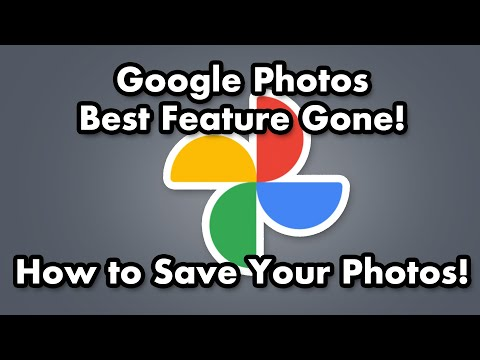 Google Photos - The BEST Feature is Gone! No More Free Unlimited Back Up! Here's What YOU Can D