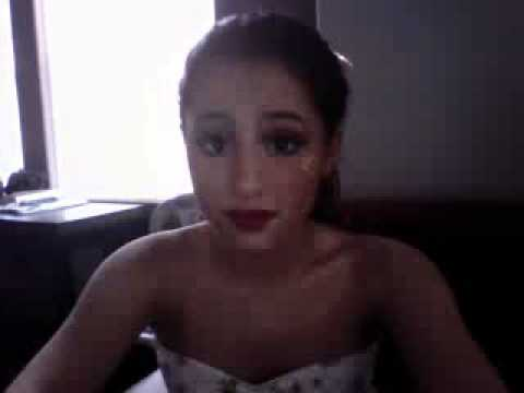 Ariana Grande Ustream 10/31/10