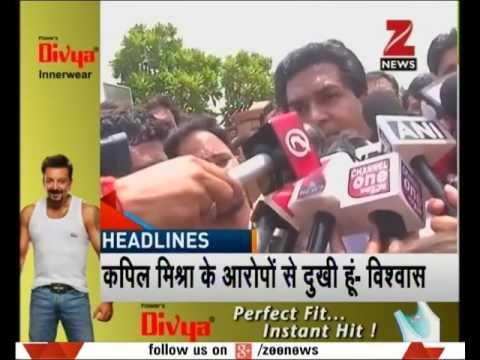 HEADLINE 3 30 | Kapil Mishra alleges corruption in Aam Aadmi Party