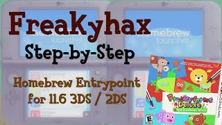 Hacking Method for 11.6 // Homebrew Entrypoint for Old + New 3DS / 2DS